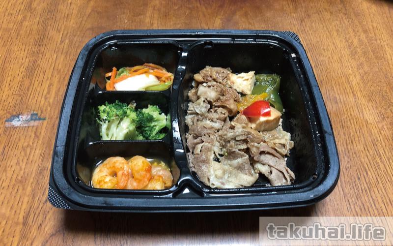 nosh(ナッシュ)の台湾風牛肉オイスター炒め