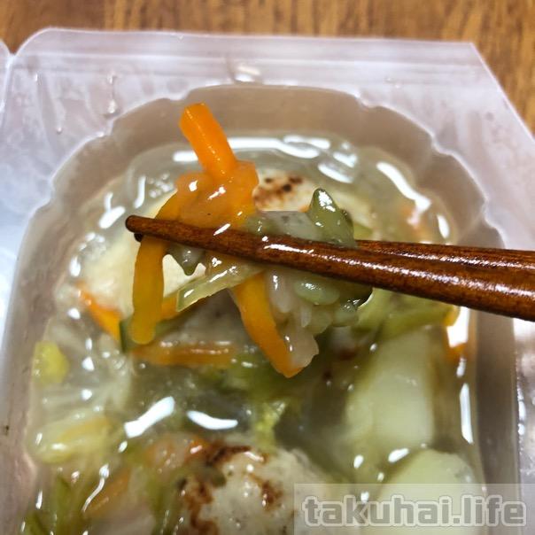 春雨スープの具