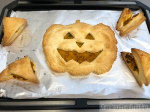 見た目楽しく!かぼちゃサクサクミートパイ